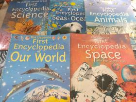 The usborne first Encyclopedia OF our WORLD space animals seas oceans SCIENCE