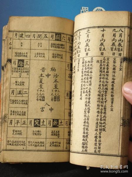 清代风水地理书日子书