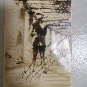 民国军官老照片  (有原照片签字)