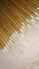 老毛笔:七紫三羊一组仅存30支一枪过