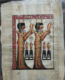 阿拉伯风格树皮画