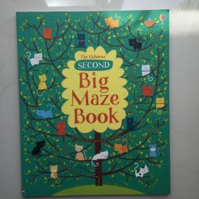 正版全新英文原版Second Big Maze Book 儿童亲子趣味互动系列之小猫 大迷