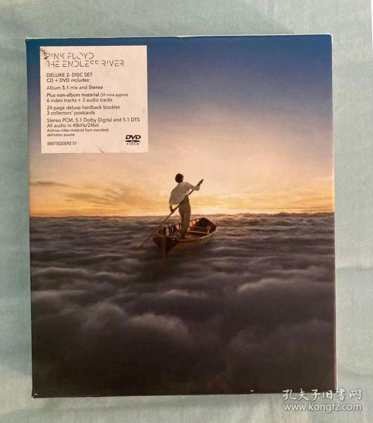 Pink Floyd 《The endless river》 无尽之河 CD DVD 双碟豪华装
