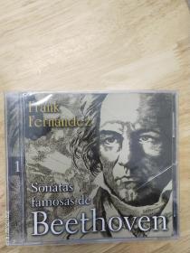 FrankFernandez《SonatasfamosasdeFrankFernandezSonatasfamosasdeBeethoven。多网唯一,全新未拆封,外国原版,埃格雷姆2003专辑。