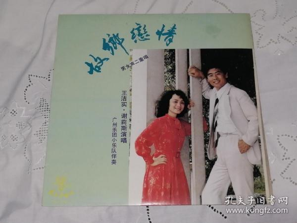 王洁实谢莉斯故乡恋情黑胶唱片 12寸