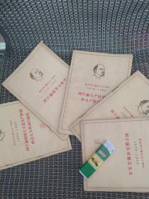 纪念列宁诞生90周年1870-1960(列宁论反对修正主义,列宁论民族解放运动,列宁论无产阶级革命和无产阶级专政,列宁论战争与和平,列宁论帝国主义是无产阶级社会主义革命的前夜)五本合售