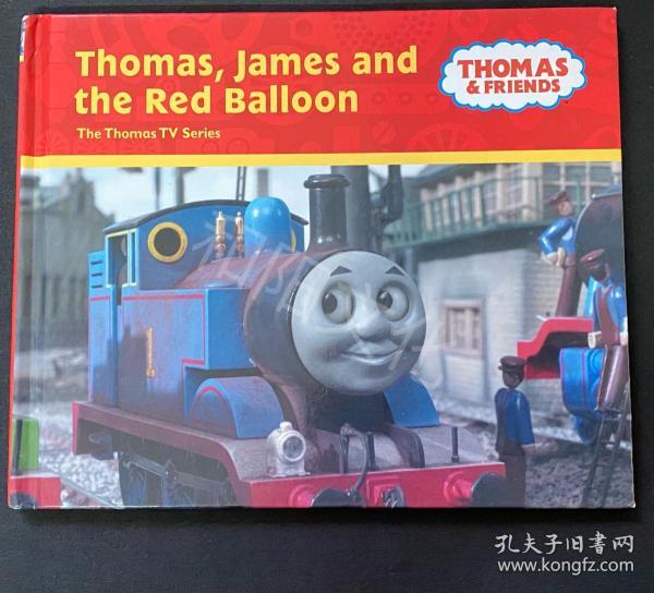 Thomas James and the red balloon 精装 儿童英文绘本 原版英文绘本 童书 九品