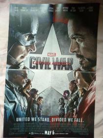 电影海报:复仇者联盟(队长)