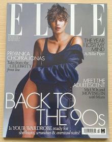 英国版 ELLE 2021年3月 女士时尚服饰潮流服装英文杂志
