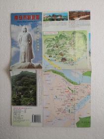 福建—南安市游览图 四开地图