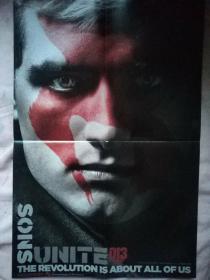 电影海报:单张双面画