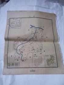 民国地图 ——庆符45•38cm