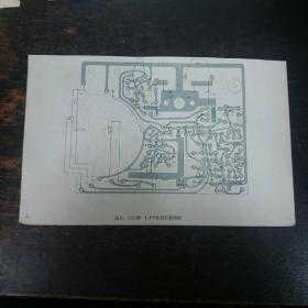 黄河牌6J6型收音机接线图/昆仑、太行牌1.5V收音机接线图