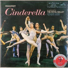 美版RCA阴影狗头版 LM-2135 单普罗科菲耶夫 芭蕾/灰姑娘/皇家芭蕾舞团/里格诺德指挥科文特花园皇家歌剧院管弦乐团