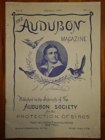 奥杜邦杂志1887年创刊号 100周年出版社重印本 奥杜邦杂志(Audubon Magazine)是世界著名的鸟类科学期刊 以美国最著名的画家、博物学家奥杜邦命名,是奥杜邦学会的专刊