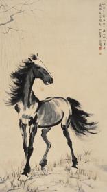 悲鴻-驪70X126 高清微噴復制品