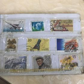 老邮票一册60张