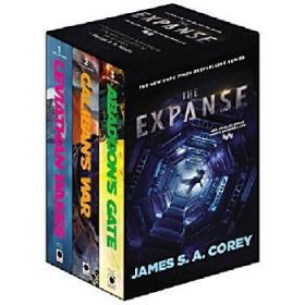 英文原版 苍穹浩瀚3册套装 美剧原著 无垠的太空 The Expanse Boxed Set: Leviathan Wakes, Calibans War and Abaddons Gate
