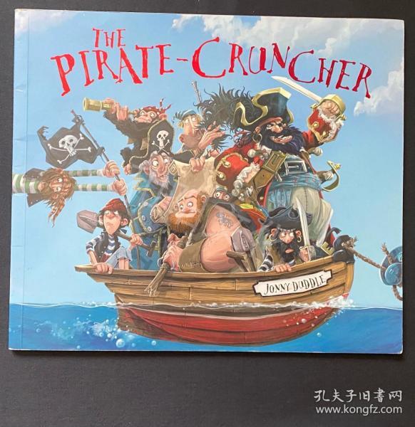 5/6 今日特价The pirate-cruncher 平装 瑕疵书 儿童英文绘本 原版英文绘本 八五品 人物