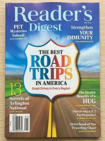 READER'S DIGEST 美国版读者文摘2021年5月英文生活类杂志