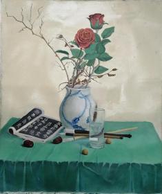 收来的美院学生油画作品——只包手绘,图物一致售后不退