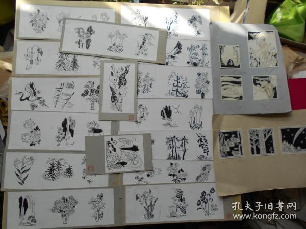 画家【胡连江,手绘插图一批】