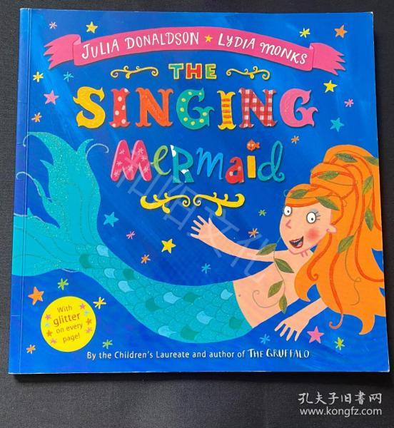 5/6 今日特价 The singing mermaid 特价书 平装 触摸书 儿童英文绘本 原版英文绘本 童书