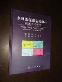 中国能源报告(2014):能源贫困研究 精装