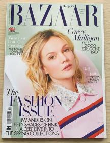 英国版 HARPER`S BAZAAR 芭莎2021年3月 英文时尚女士服装杂志