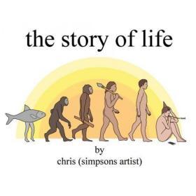 预订 怪诞人生小史 The Story of Life 英文原版