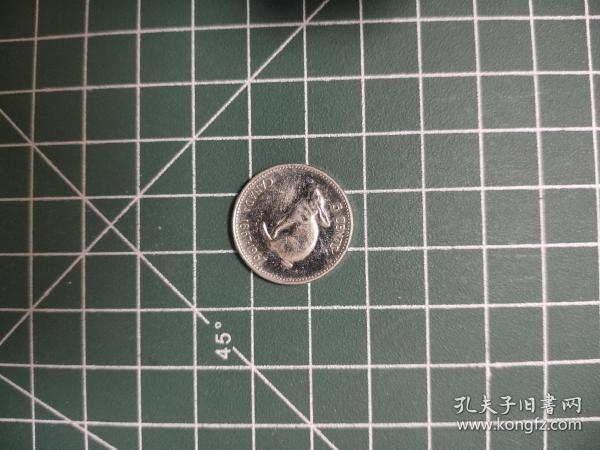 外国硬币加拿大小兔子满五十元包邮