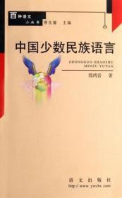 百种语文小丛书 中国少数民族语言
