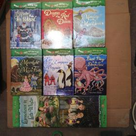 MAGIC TREE HOUSE(32、37、38、39、40、41、42、43)8册合售