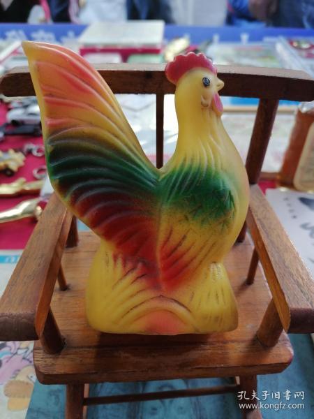胶皮玩具怀旧《公鸡》