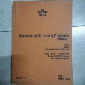 Dangerous Goods Training Programme  WORKBOOK 1