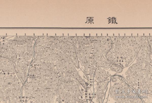 日本测绘朝鲜地形图1920年底铁原狙击战涟川等地共十四张原版地图非数据