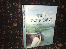 青田县金坑水电站志.