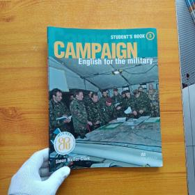 CAMPAIGN English for the military  STUDENT'S BOOK 3【书内有字迹】大16开