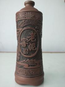 老泥窖酒  旧酒瓶(无盖)