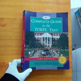HEINLE'S COMPLETE GUIDE to the TOEFL TEST  大16开【含光盘一张  内页干净】