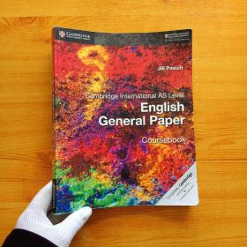 Cambridge International AS Level English General Paper  Coursebook  大16开【内页干净】