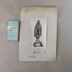 文物机构流出,老照片,隋板凳佛