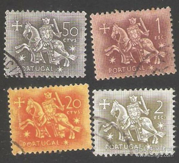 【北极光】外国-葡萄牙邮票-信销邮票-旗帜-红十字专题收藏-实物扫描