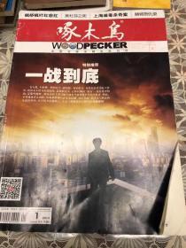 啄木鸟2014年 第1-12期 全(大型公安法制文学月刊)