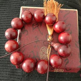 紫檀木手串(单只,带盒)