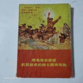 用毛泽东思想武装起来的战士所向无敌