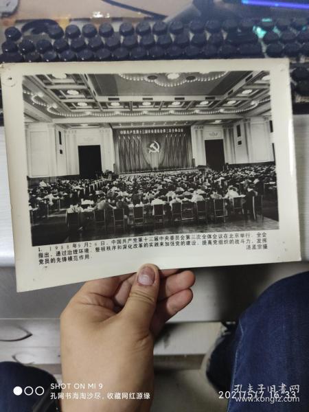 中国共产党第十三届中央委员会第三次全体会议新闻照