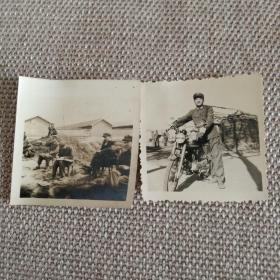 老照片两张。