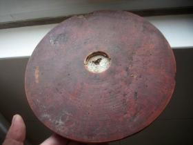 清代-风水先生用的探测工具【大罗盘】一个!直径23厘米。厚2.5厘米!虫蛀品弱如图!