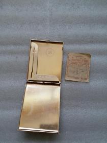 铁烟盒含票无破损尺寸是估计不准确按图发货以图为准看图自定快递费按照收货地址实数收拍下随时修改快递费